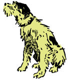 собака иллюстрация вектора