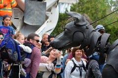 Собака Giants Xolo Стоковое фото RF
