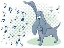 собака muscial Стоковые Фотографии RF