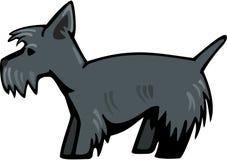 Собака Scottie иллюстрация вектора