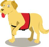 Собака Serive бесплатная иллюстрация