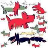 Собаки Стоковые Изображения RF