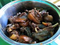 Собачье мясо, Камбоджа стоковые изображения rf