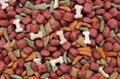 собачья еда предпосылки Стоковые Изображения RF