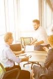 Собеседование для приема на работу в офисе Стоковое Изображение