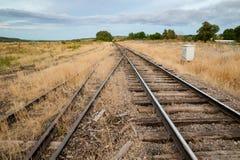 Собирательные железнодорожные следы дороги Стоковое фото RF
