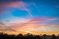 Собирательные полеты стоковое фото rf