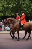 собираться толпой london предохранителя цвета королевский Стоковое Изображение RF