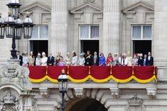 собираться толпой london 2012 цветов Стоковое Изображение