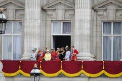 собираться толпой london 2012 цветов Стоковые Изображения