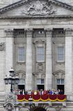 собираться толпой london 2012 цветов Стоковые Фотографии RF
