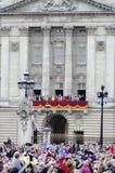 собираться толпой london 2012 цветов Стоковое Фото