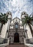 Собор Августина Блаженного в городском Tucson, Аризоне Стоковые Изображения RF