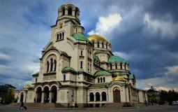 собор Александра nevsky стоковое изображение rf