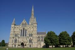 собор Англия salisbury Уилтшир Стоковое фото RF