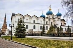 Собор аннунциации в Казань Кремль, России стоковые изображения rf