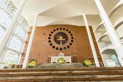 Собор апостола St Paul, Blumenau стоковая фотография rf