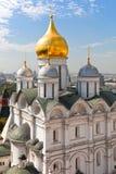 Собор Архангела Москвы Кремля. стоковое изображение rf