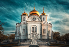 собор Александра nevsky Иллюстрация штока