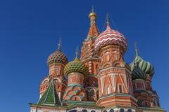 Собор базилика Святого на красной площади стоковая фотография