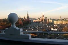 Собор базилика St (собор Pokrovsky) Стоковая Фотография