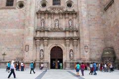 Собор базилики Senora de Сан-Хуана de los Лагоса Nuestra Стоковые Изображения