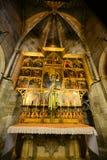 Собор Барселоны, старый городок Барселона, Испания Стоковая Фотография RF