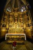 Собор Барселоны, старый городок Барселона, Испания Стоковые Изображения RF