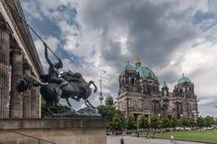 Собор Берлин Германия музея Altes Стоковые Изображения