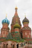 Собор благословленное St Vasily стоковое изображение rf