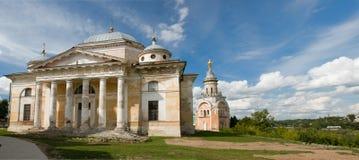 Собор Бориса и Gleb и свеча башни стоковое изображение