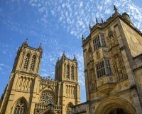 Собор Бристоля в Англии стоковое фото rf