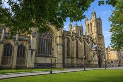 Собор Бристоля в Англии стоковая фотография rf
