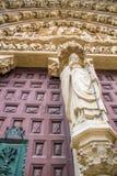 Собор Бургоса входа Стоковая Фотография