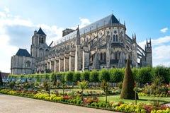 Собор Буржа, Франции Стоковое Фото