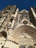Собор Буржа, Франции Стоковая Фотография