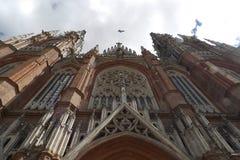 Собор Буэнос-Айрес Аргентина Plata Ла стоковое изображение rf