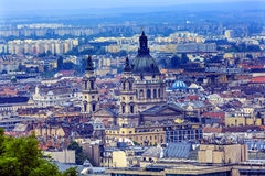 Собор Будапешт Венгрия Stephens Святого городского пейзажа городской Стоковые Изображения RF