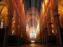 собор внутри st mary s Стоковая Фотография