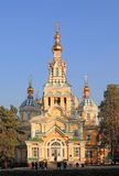 Собор восхождения Святого к Алма-Ате стоковые изображения rf