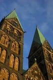 Собор в Бремене, Германии Стоковые Изображения