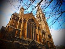 Собор в Великобритании Стоковое Фото