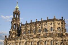 Собор в Дрездене Стоковые Изображения
