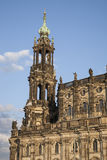 Собор в Дрездене Стоковое Изображение RF