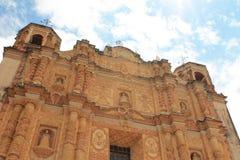 Собор в колониальной Мексике стоковые фотографии rf