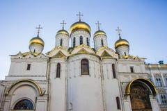 Собор в Кремле, Москве Стоковая Фотография RF