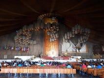 Собор в Мехико Гваделупе стоковая фотография rf
