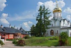 Собор в монастыре Savvino-Storozhevsky в Zvenigorod Стоковые Изображения