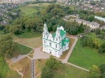 Собор в Полоцк, Беларусь Софии стоковые изображения rf