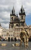Собор в Праге Стоковая Фотография RF